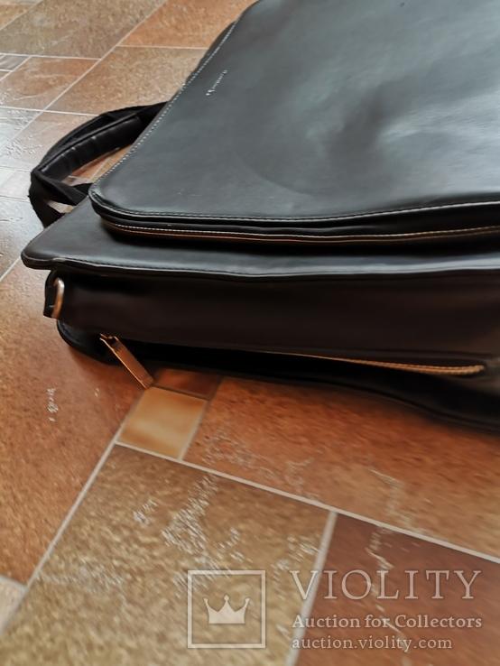 Сумка мужская портфель дипломат, фото №5