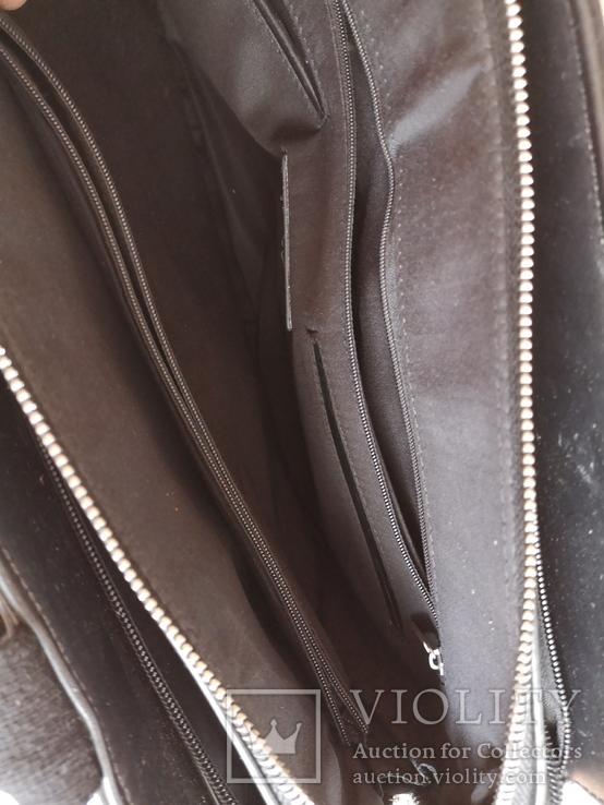 Сумка мужская портфель дипломат, фото №12