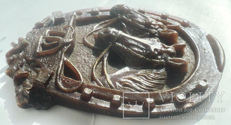 Панно  лошади подкова, фото №6