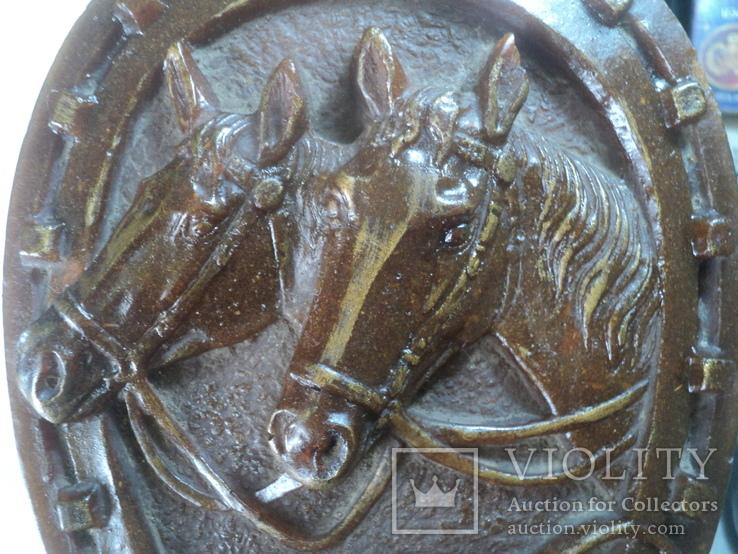 Панно  лошади подкова, фото №12