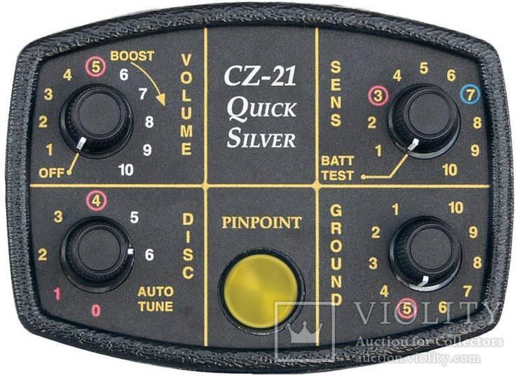 Металлоискатель Fisher CZ-21-10, фото №3