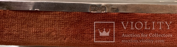 Икона «Спасителя» в серебряном окладе., фото №4