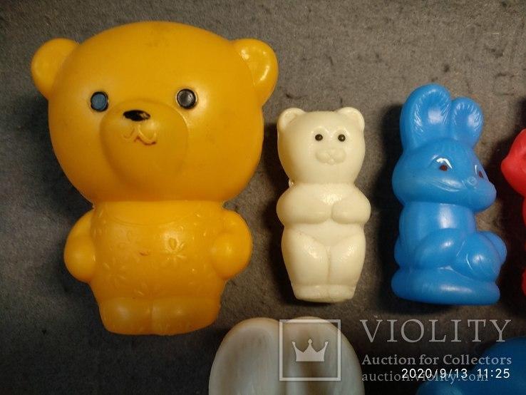 Фигурки разные жёсткий пластик ссср, фото №5