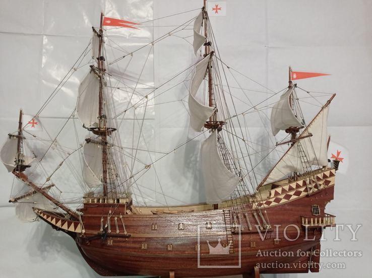 Модель галеона Сан Джованни Батиста, фото №3