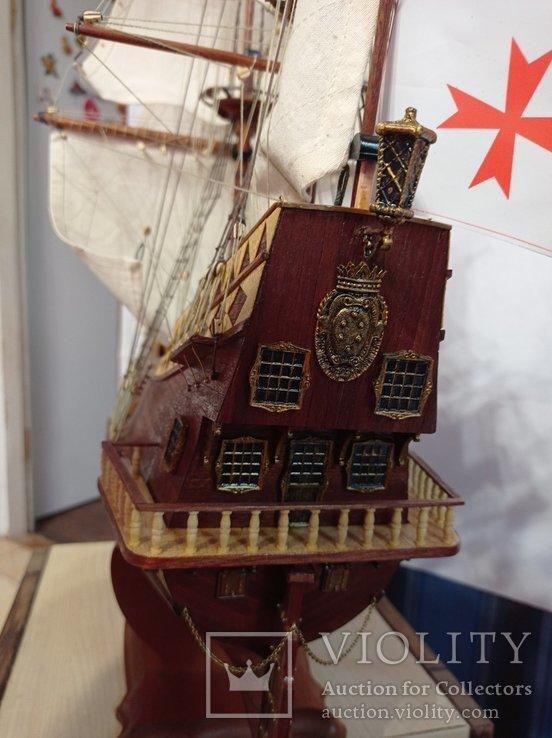Модель галеона Сан Джованни Батиста, фото №5