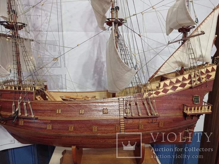 Модель галеона Сан Джованни Батиста, фото №8