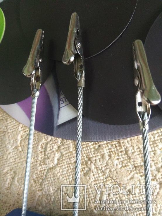 Настольные крабовые зажимы,круглые  магниты., фото №5