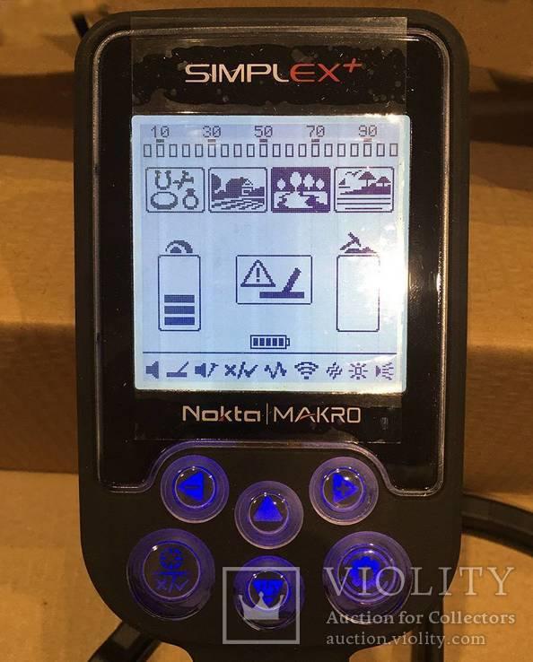 Металлоискатель Nokta Simplex + WHP, фото №3