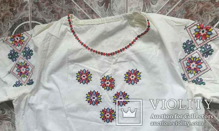 Рубаха Вышитая 70Х70 см Рукав 42 см, фото №3