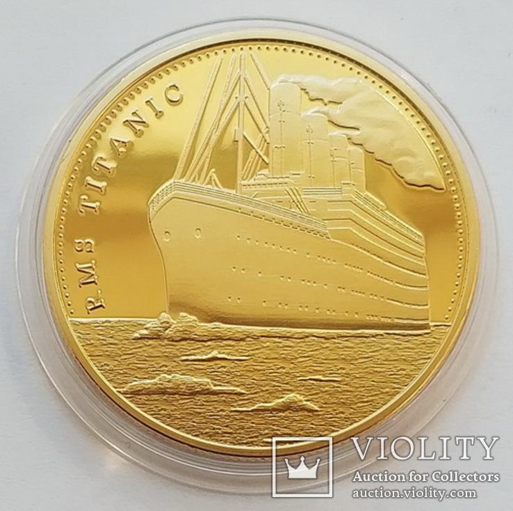 Жетон Voyage of Tinanic / Путь Титаника - 2, фото №2