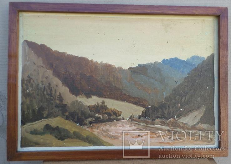 Горный пейзаж, фото №4