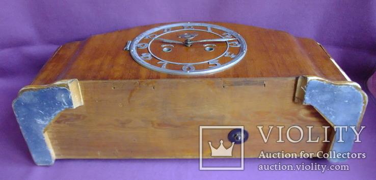 Часы каминные с боем ОЧЗ Орловский часовой завод 1957 год. Рабочие., фото №7