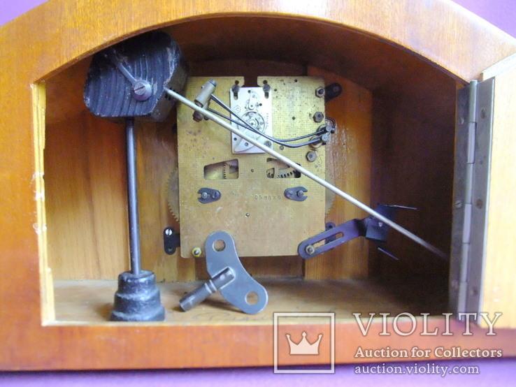 Часы каминные с боем ОЧЗ Орловский часовой завод 1957 год. Рабочие., фото №11