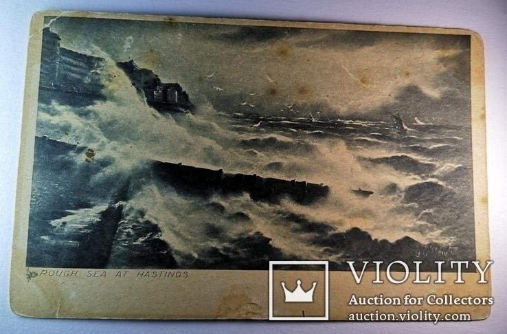 Rough sea at Hastings, фото №6