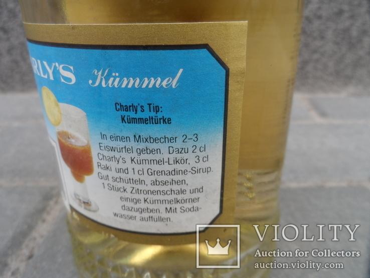 Ликер Kummel 0.7 L CHARLYS Австрия, фото №8