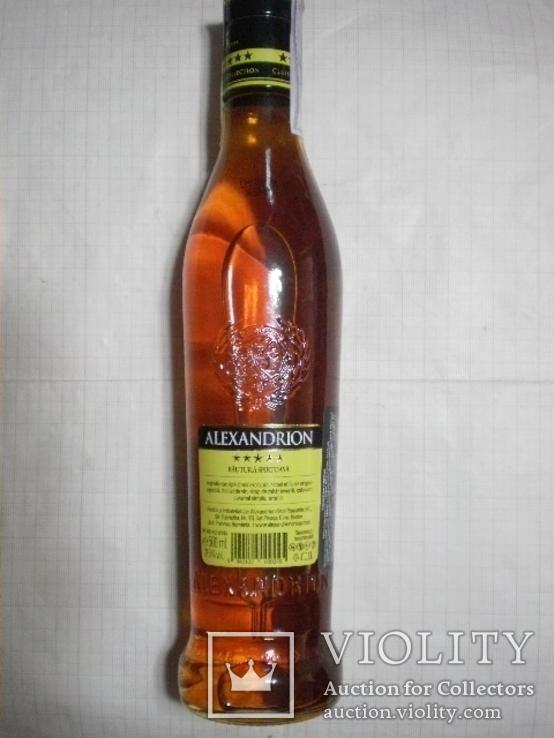 "5* бренди 0,5л. ""ALEXANDRION"", фото №3"