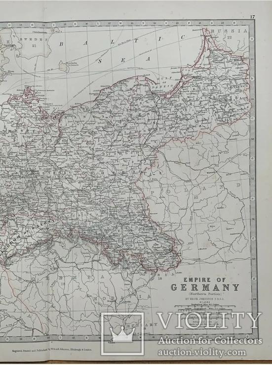 1880 Германская Империя. Польша. Россия. 1880. Оригинал., фото №3