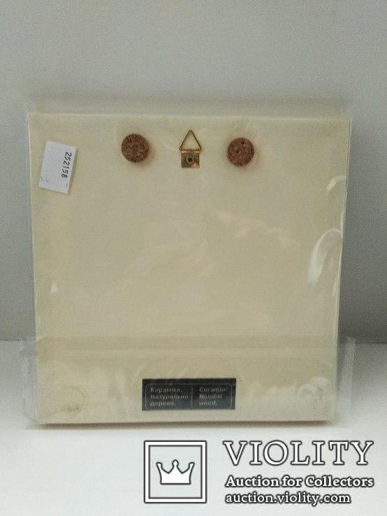 Картина на керамике в деревянной раме 3, фото №3
