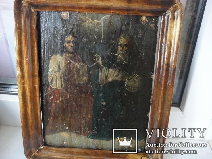 "Икона "" Отца и сына и Святаго Духа"", фото №12"