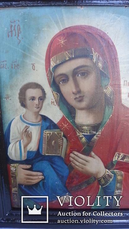 """Икона """"Божия Матерь Праворучица"""", фото №3"""