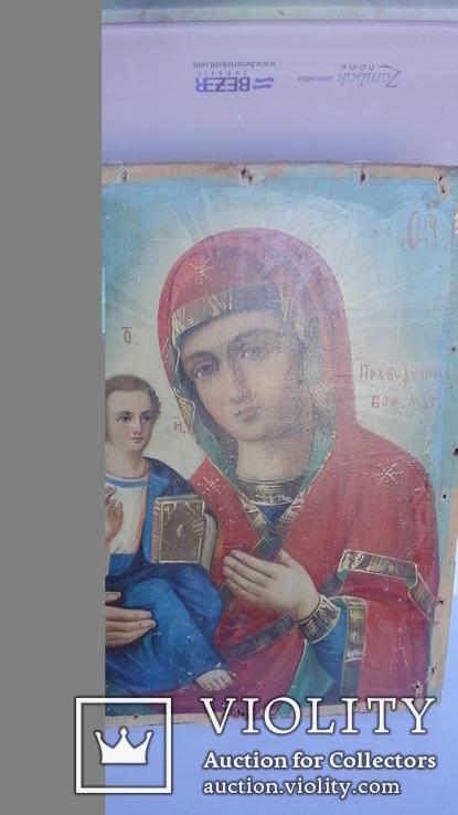 """Икона """"Божия Матерь Праворучица"""", фото №5"""