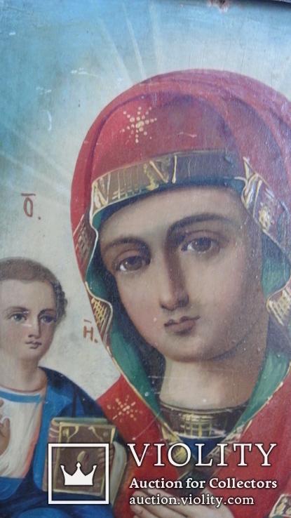 """Икона """"Божия Матерь Праворучица"""", фото №9"""