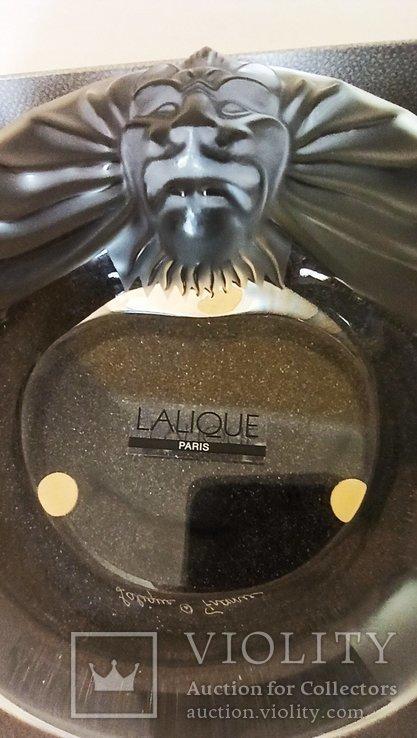Lion's Head Ashtray Lalique, фото №3