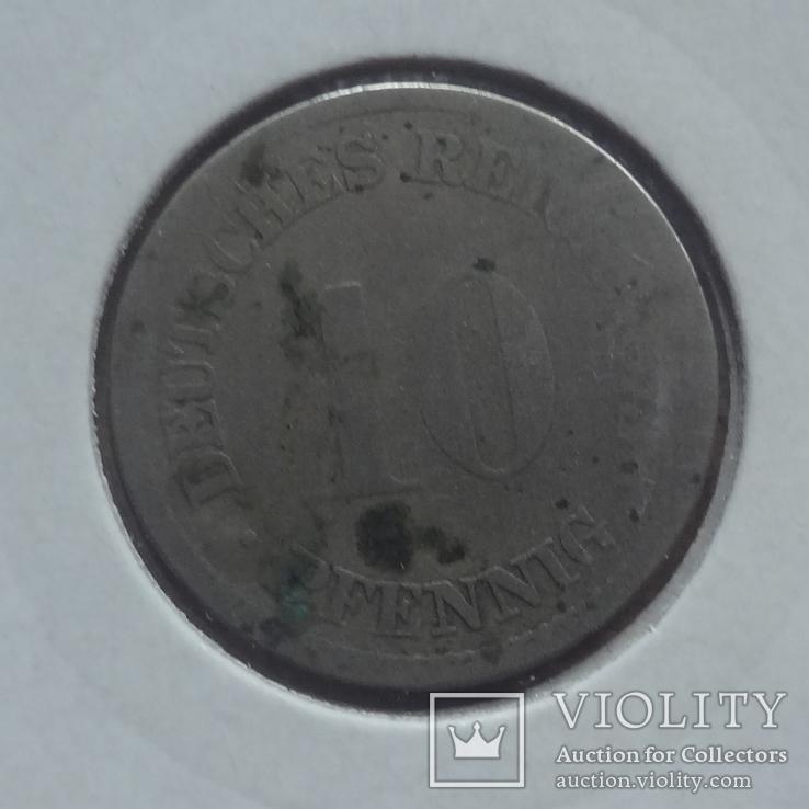 10  пфеннигов  1873  Германия  Холдер 492, фото №4