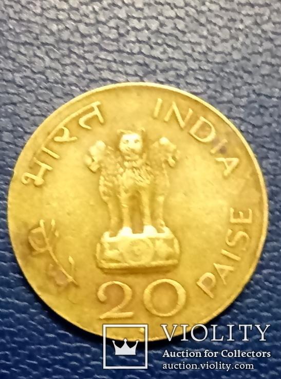 20 пайс 1969 г Индия, фото №8