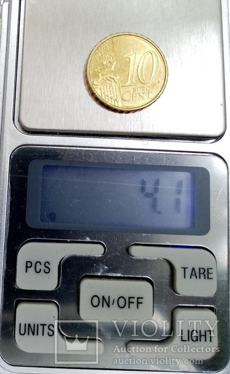 """10 евроцентов 2007г Словения """"Катэдра свободы"""", фото №5"""