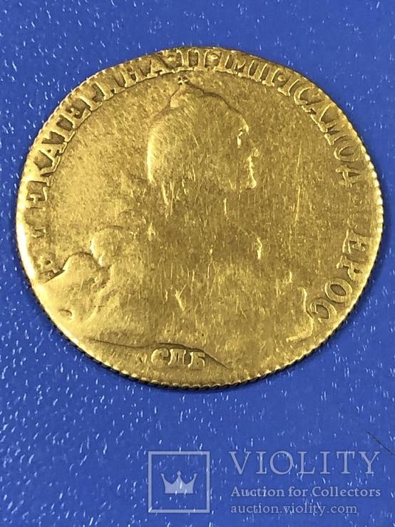 10 рублей Екатерина 1772