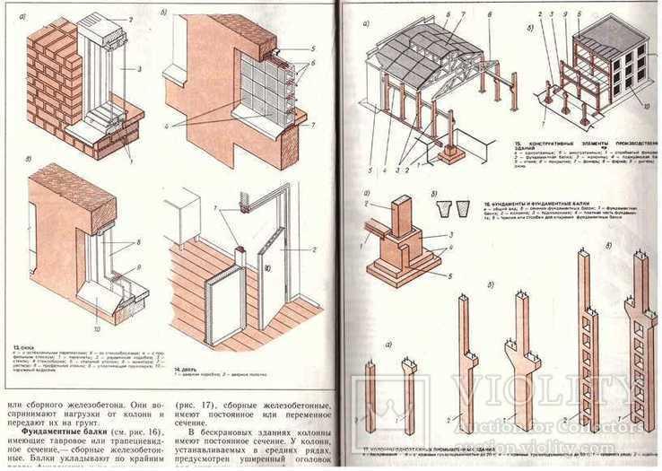 Иллюстрированное пособие для подготовки каменщиков.1988 г., фото №7