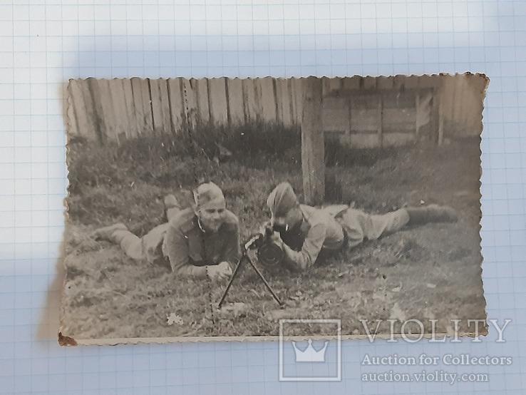 Фото солдат с пулеметом, фото №4