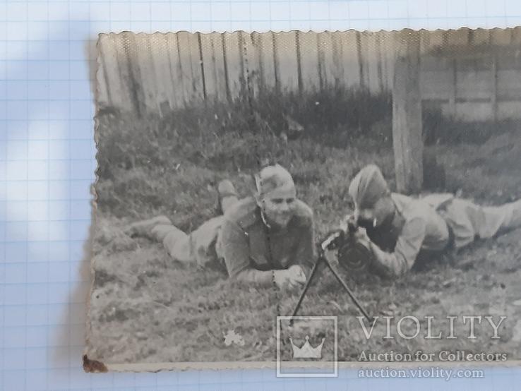 Фото солдат с пулеметом, фото №5