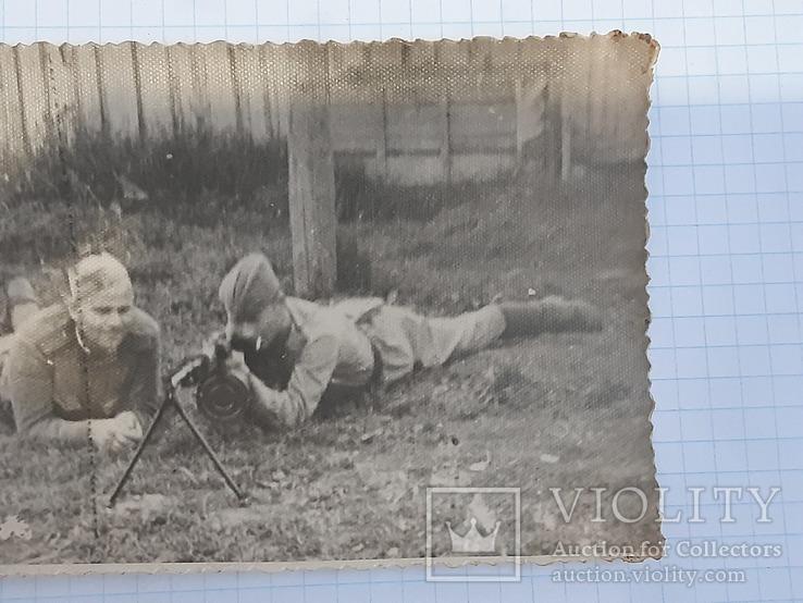 Фото солдат с пулеметом, фото №6