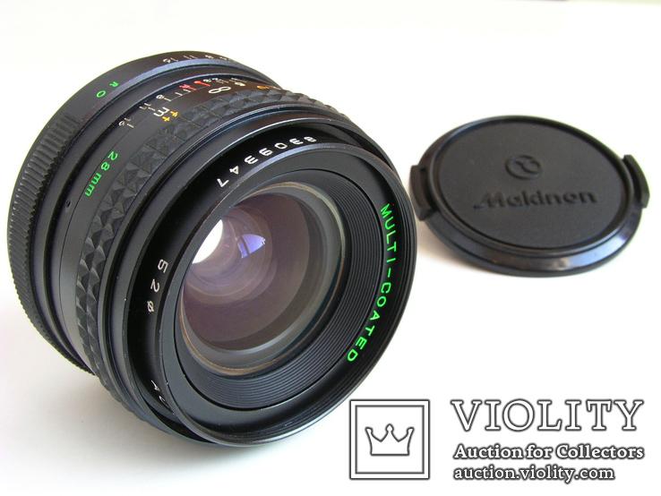 Makinon 2,8/28 MC для Rolleiflex SL35 (QBM,RO),Япония, фото №2