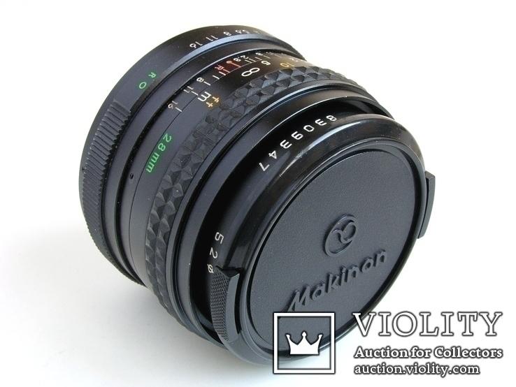 Makinon 2,8/28 MC для Rolleiflex SL35 (QBM,RO),Япония, фото №3