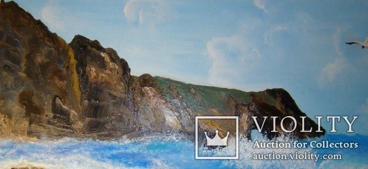 "Картина 50х70 см ""Средиземноморский пейзаж"", фото №9"