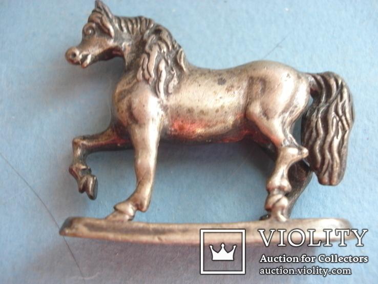 Серебряная статуэтка лошади., фото №2