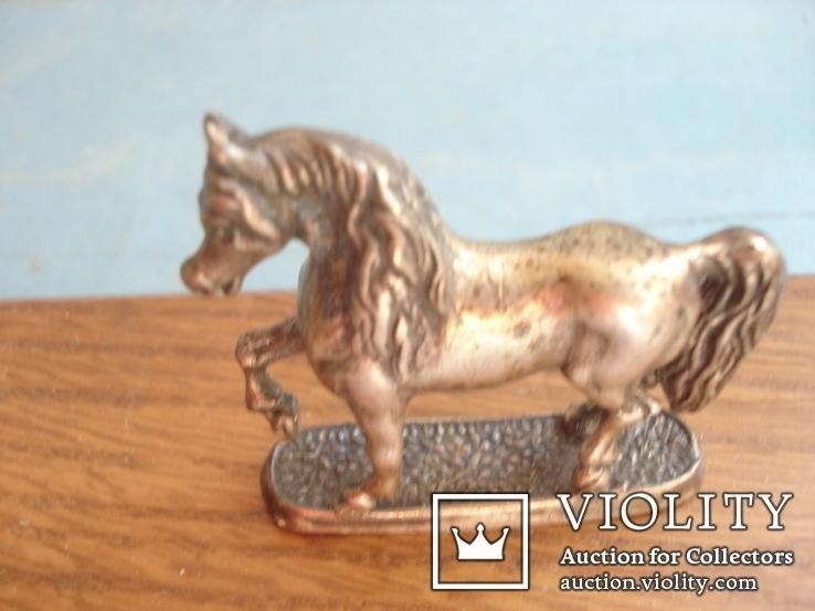 Серебряная статуэтка лошади., фото №6