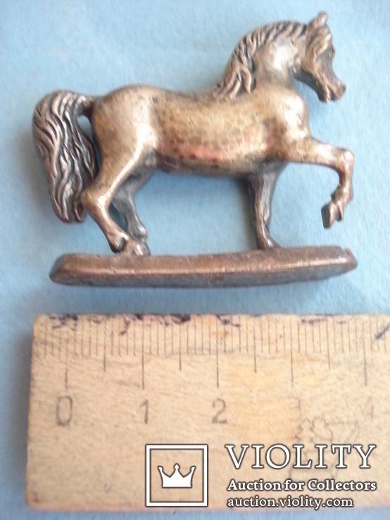 Серебряная статуэтка лошади., фото №9