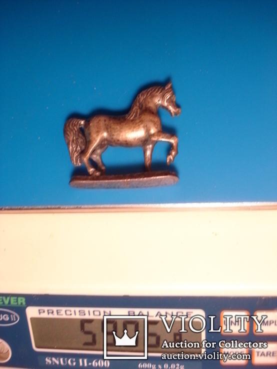Серебряная статуэтка лошади., фото №10