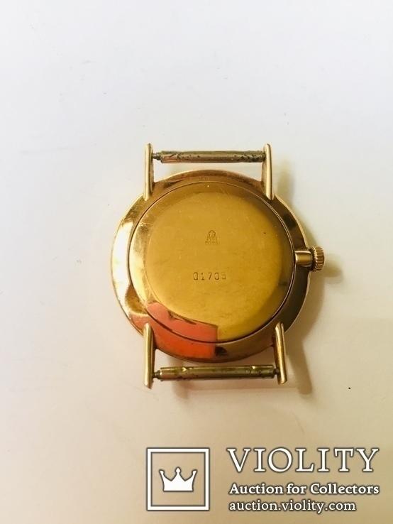 Часы золотые Ракета, фото №3