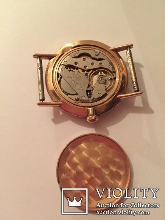 Часы золотые Ракета, фото №4