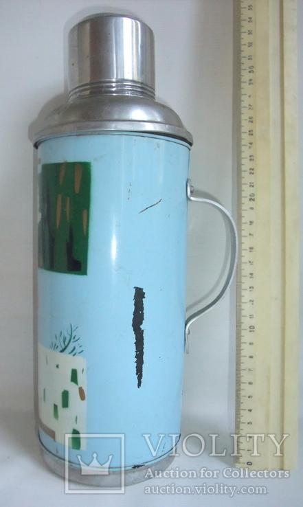 Термос FLYING GRANE для чая, кофе и напитков - стеклянная колба., фото №6