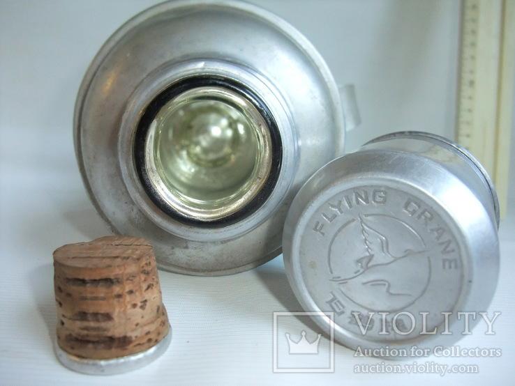 Термос FLYING GRANE для чая, кофе и напитков - стеклянная колба., фото №9