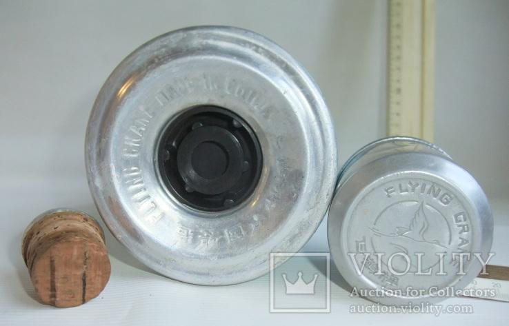 Термос FLYING GRANE для чая, кофе и напитков - стеклянная колба., фото №10