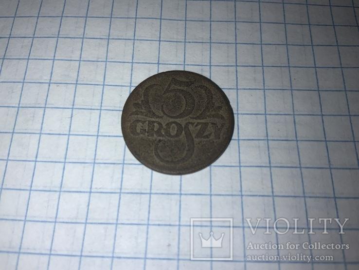 Польща 5 грошей, 1923, фото №3