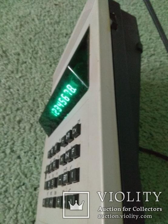 Калькулятор профессиональный сетевой ЭЛЕКТРОНИКА МКУ1 в отличном рабочем состоянии, фото №3