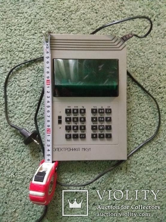 Калькулятор профессиональный сетевой ЭЛЕКТРОНИКА МКУ1 в отличном рабочем состоянии, фото №8